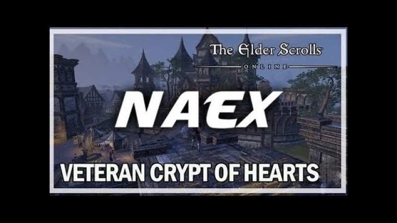 The Elder Scrolls Online - Templar CP 513 - Crypt of Hearts I (Veteran Dungeon)
