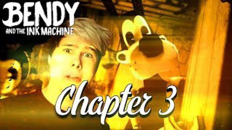 АНГЕЛ ИЛИ ДЕМОН? - Bendy And the ink machine chapter 3 глава 3 прохождение