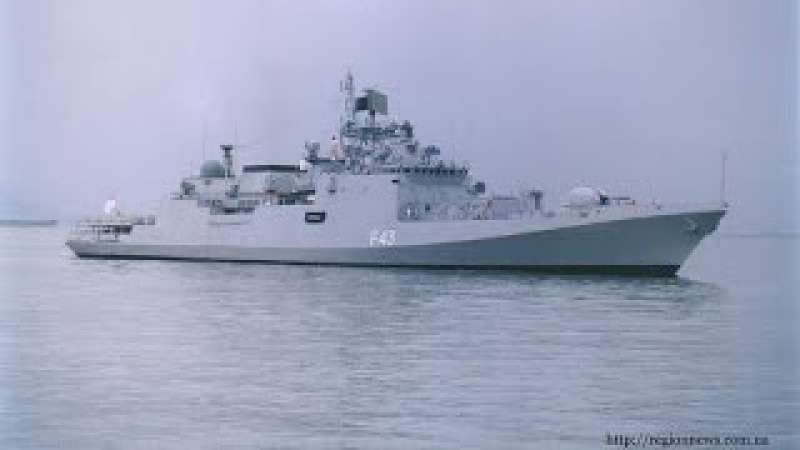 Die Fregatte Admiral Gorschkow in seiner ganzen Pracht