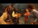 Видео отчет со съемок фильма Пираты Карибского Моря Джонни Депп и Кейт Ричардс
