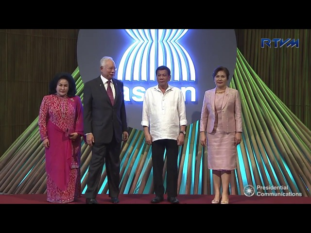President Duterte formally opens the 31st ASEAN Summit at the Cultural Center of the Philippines