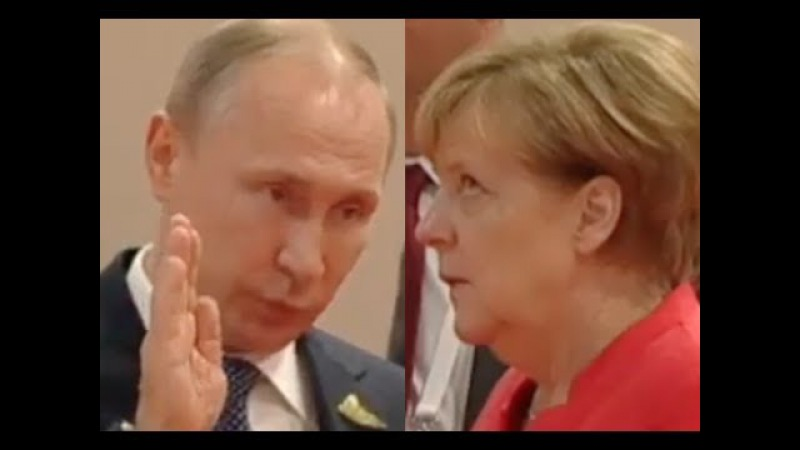 DID ANGELA MERKEL ROLL HER EYES AT VLADIMIR PUTIN?