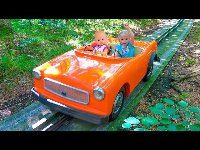 Кукла Беби Бон и Настя КАК МАМА играем вместе в парке Влог для детей Baby Born Doll Fun Play...