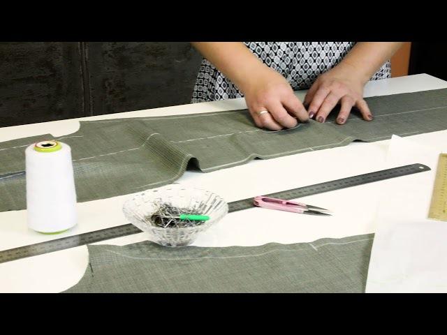 Лекция о посадке брюк Как посадить брюки на фигуру Формование брюк в процессе изготовления Часть 2