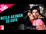 Neela Aasman So Gaya (Female) - Full Song | Silsila | Amitabh Bachchan | Rekha