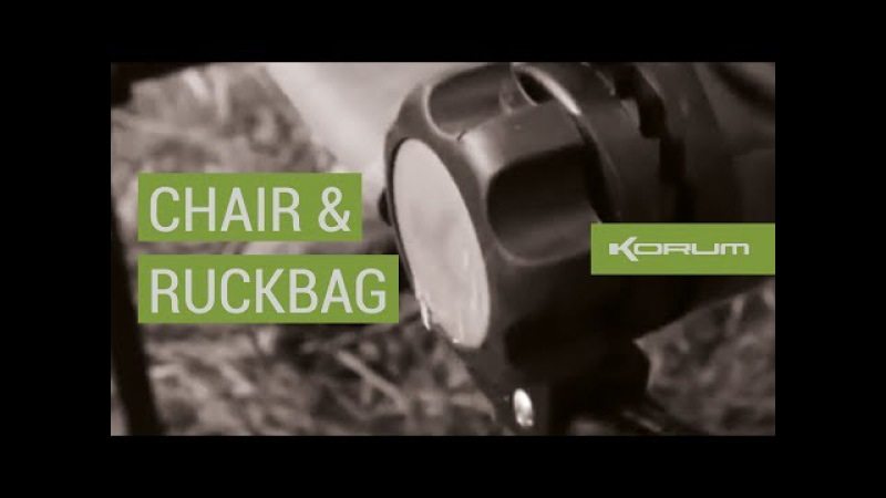 Korum Chair and Ruckbag with Dai Gribble