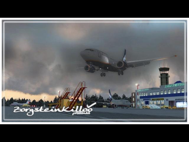 Landing in Apatity