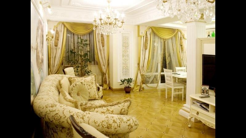 Продается роскошная 4-комнатная квартира в классическом интерьере в Калининграде