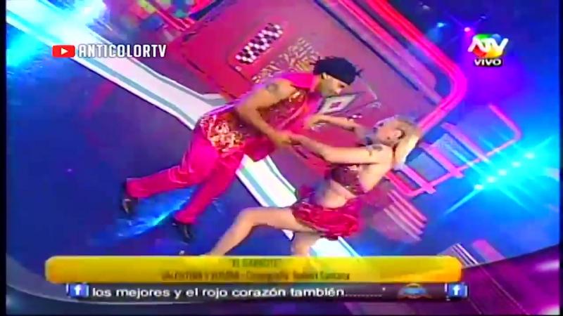 Dance of Valentina Shevchenko en reality show Combate El Garrote. 2013