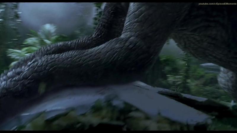 Тирекс против Спинозавра - Парк Юрского периода 3