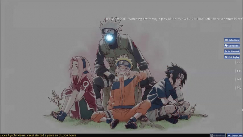 Asian Kung-Fu Generation (Naruto) - Haruka Kanata [Gero's Hard] 86.34% B