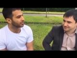 Иранец и осетин Тимур Чибиров (справа): сходство языков.