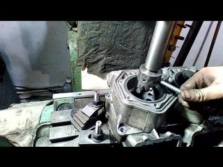 Растачивание цилиндра ROTAX 800