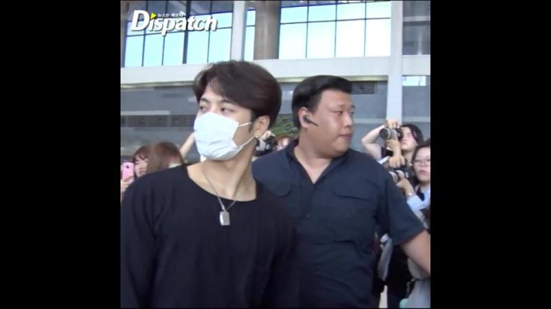 [Видео] 170623 @ Аэропорт Гимпо, улетают в Японию