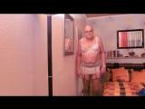 mature kinky sissy, crossdresser - strapse, Unterrock, strumpfhosen, pantyhose