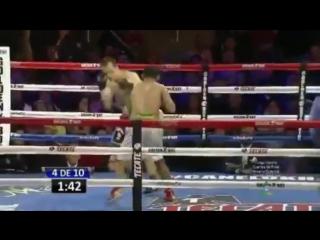 2016-05-06 Petr Petrov vs Marvin Quintero (NABF lightweight title)