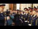 Председатель Следственного комитета А. И. Бастрыкин дает напутствие кадетам