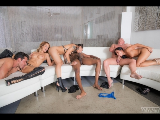 Jessica drake, honey gold, morgan lee