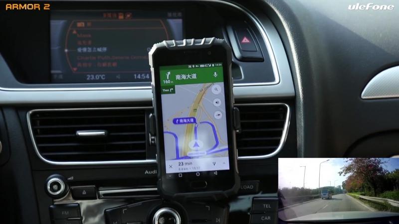 Armor 2 GPS Тест