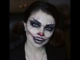 Макияж на Хеллоуин. Стилист Юлия Придиус