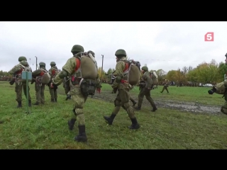 видео учений десантников из Пскова и Витебска