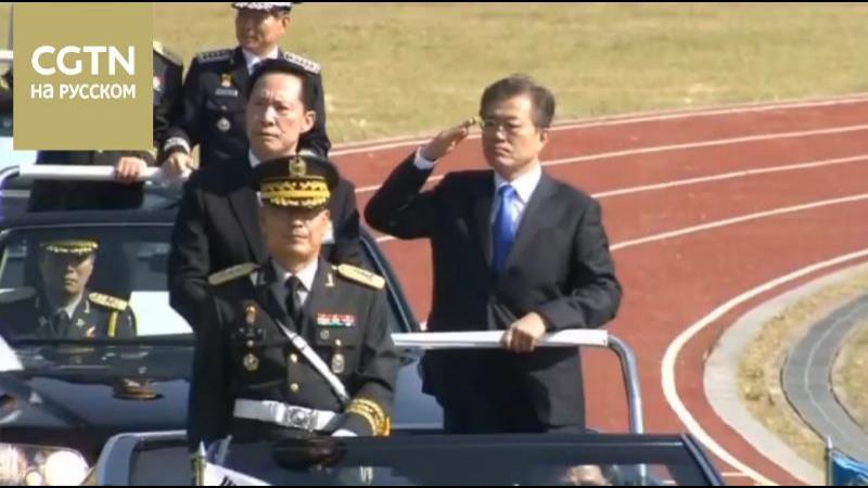 США вновь отправляют авианосную группировку к Корейскому полуострову