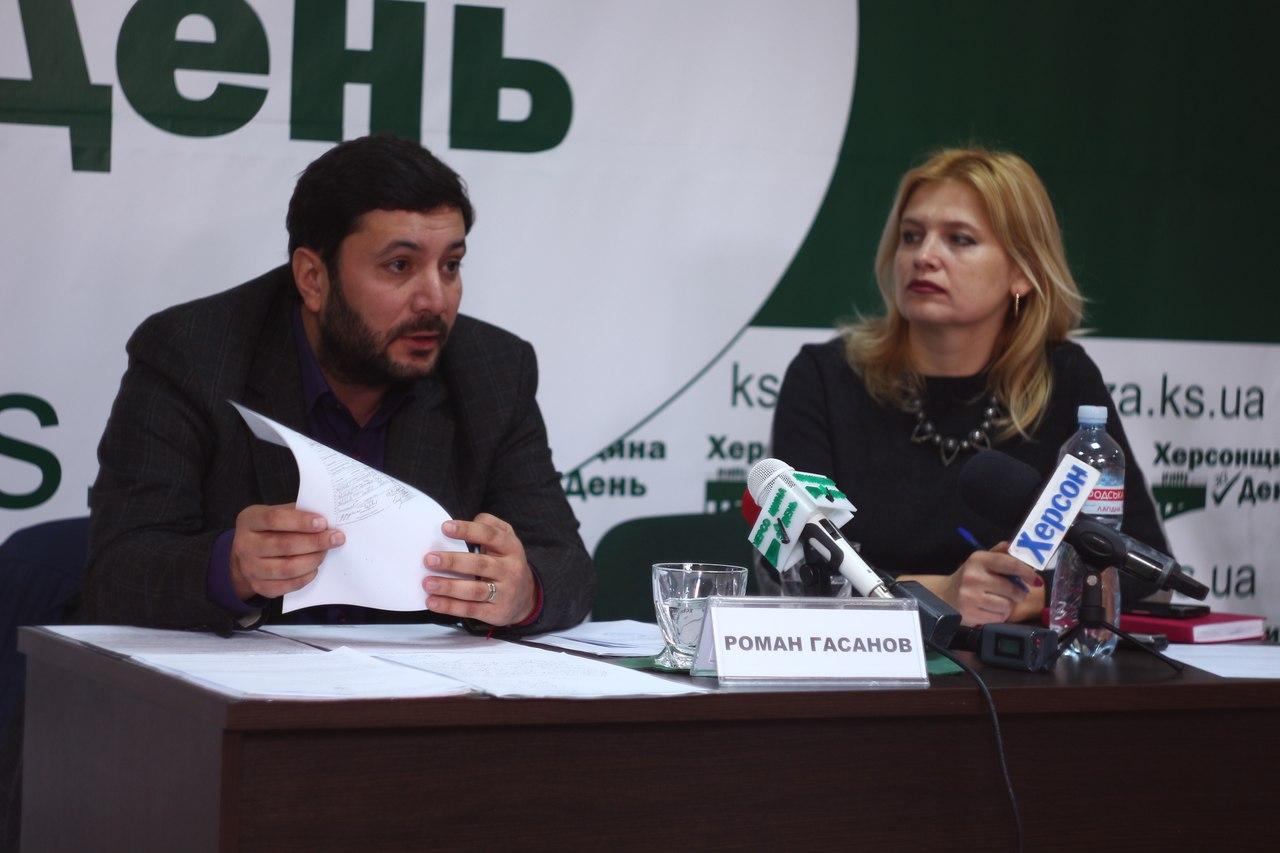 Бывший начальник Херсонской юстиции Гасанов, рассказал странные обвинения без доказательств