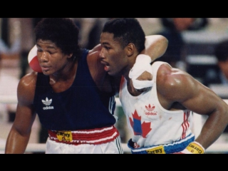 Леннокс Льюис - Риддик Боу / Riddick Bowe vs Lennox Lewis Olympic final 1988