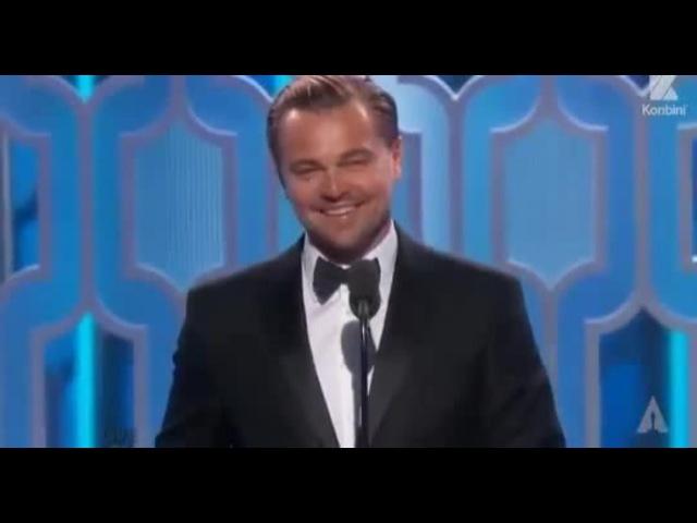 Ди Каприо дали оскар 2016/DiCaprio was awarded an Oscar 2016