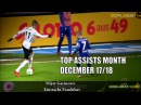 TOP ASSISTs of the Month December 17/18 - Anthony Martial, Sergio Aguero, David Neres