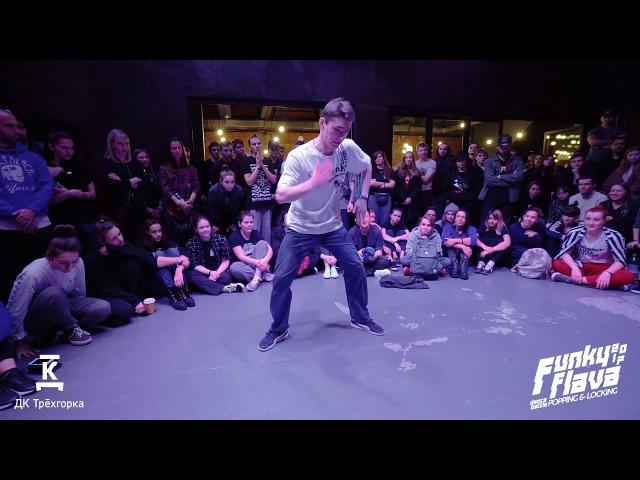 Коломбо вс Идисей | Popping Pro 1/8 | Funky Flava 2017