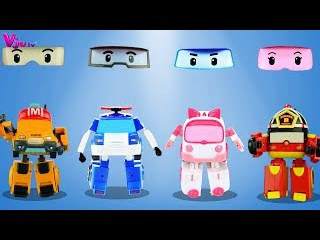 Wrong Eyes Robocar Poli Parody Finger Family Nursery Rhymes Song For Kids Baby Toddlers