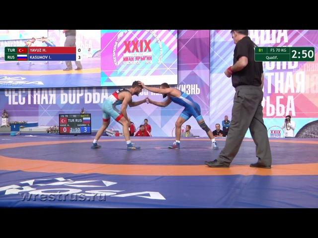 Гран-При Иван Ярыгин - 2018: Исраил Касумов (Россия) - Хайдар Явуз (Турция)