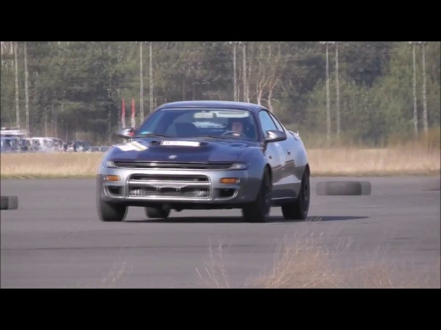 Toyota Celica GT4 350HP trackday season 2017 with pure engine sounds