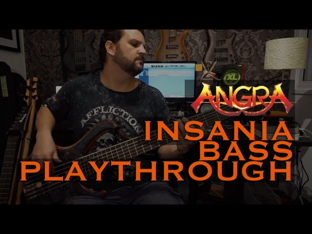 Felipe Andreoli - Angra - Insania [Bass Playthrough]