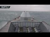 фрегат королевского ВМФ HMS Westminster (F237) сопровождает корветы ВМФ России