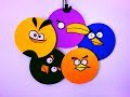 DIY Angry Birds Room Decor Super easy Recycle your old CDs Karthika Loves DIY