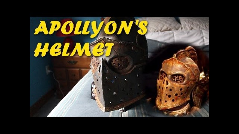 HOW TO For Honor Costume ( Apollyons Helmet )