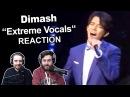 Dimash - Extreme Vocals Insane Range Singers Reaction