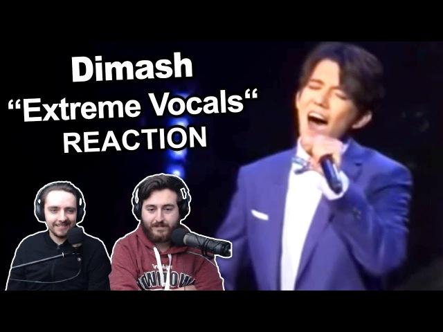Dimash - Extreme Vocals (Insane Range) Singers Reaction