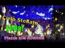 Folla Cielo Stellato Salerno Luminarie Natalizie Piazza alla Rotonda