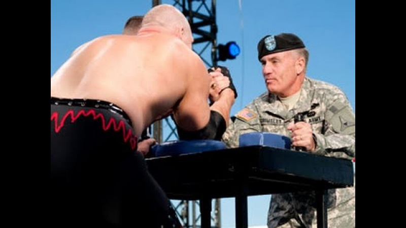 Tribute to the Troops: Arm wrestling contest