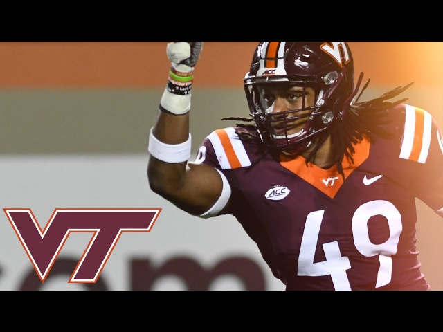 Tremaine Edmunds Best Linebacker in the Nation ᴴᴰ 2017 Virginia Tech Highlights