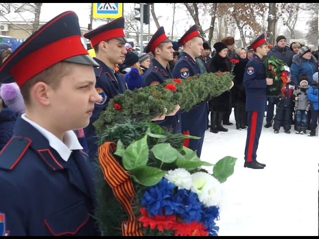 Митинг, посвященный освобождению Ростовской обл. от немецко-фашистских захватчиков