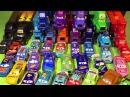 Тачки 3 Игрушки Много Машинок Молния Маккуин Трейлеры Грузовики Видео для Детей