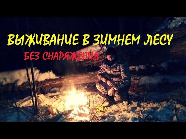Выживание в зимнем лесу без снаряжения.. ds;bdfybt d pbvytv ktce ,tp cyfhz;tybz..