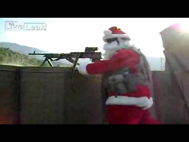 Santa Lets Al-Qaeda Sit On His Lap!