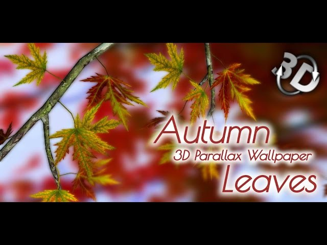 Autumn Leaves In HD Gyro 3D XL (Premium) - Геймплей   Трейлер