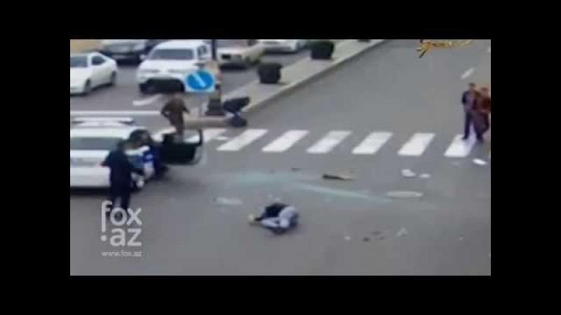 Трагическая авария в Баку с наездом на пешеходов