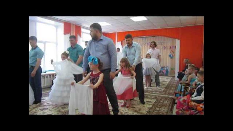 Танец папочек и дочек на выпускной в детском саду